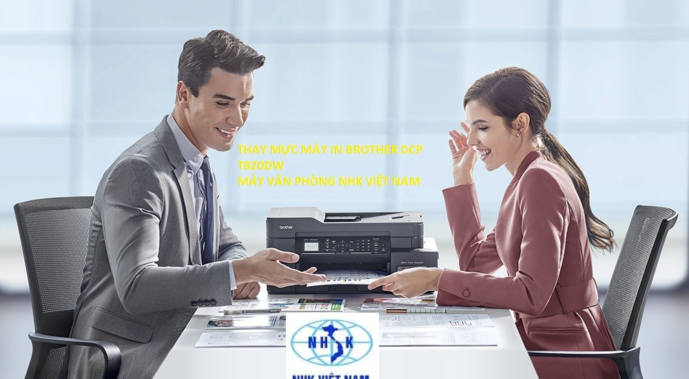 thay mực máy in brother DCP T820DW